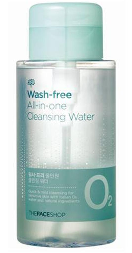 Wash-free All-in-one Cleansing Water