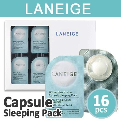 White Plus Renew Capsule Sleeping Pack