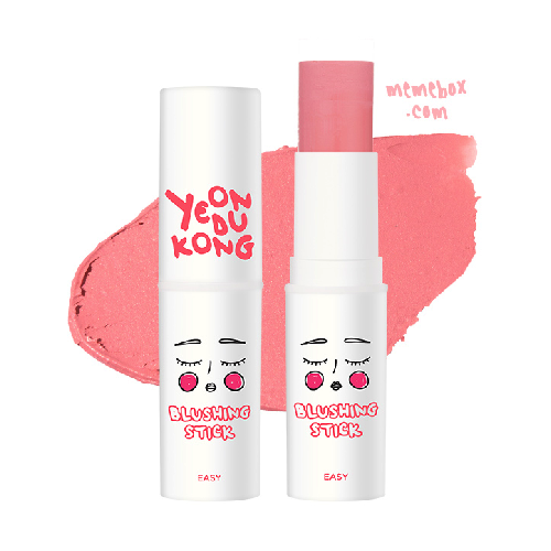 [YEONDUKONG x MEMEBOX] Easy Blushing Stick #01 Shy Pink