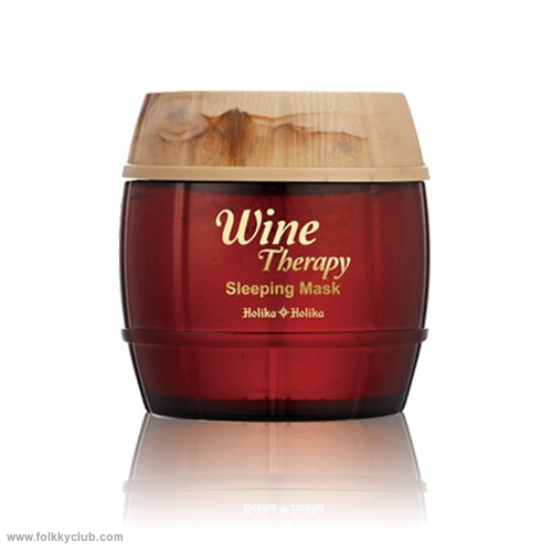 Wine Therapy Sleeping Mask #Red Wine Wrinkle Care