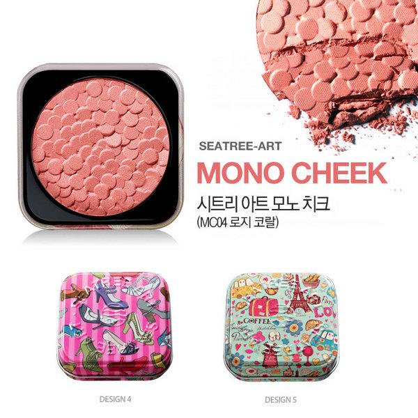 Seatree Mono Cheek # MC04 Rosy Coral -5