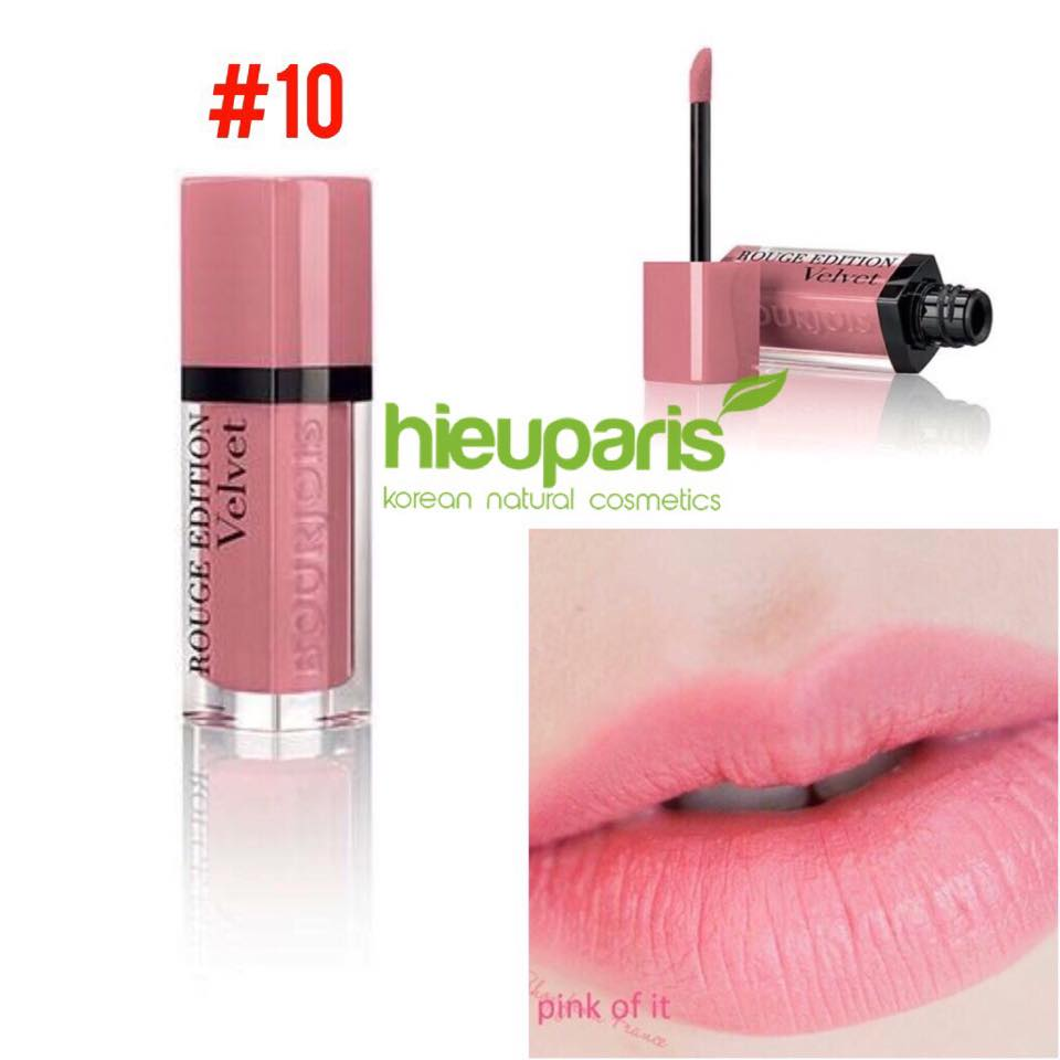 Bourjois Velvet #10 Dont Pink Of It