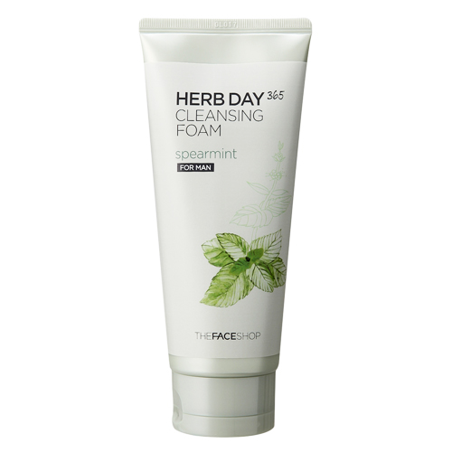 Herb Day Cleansing Foam Spearmint (For Men)