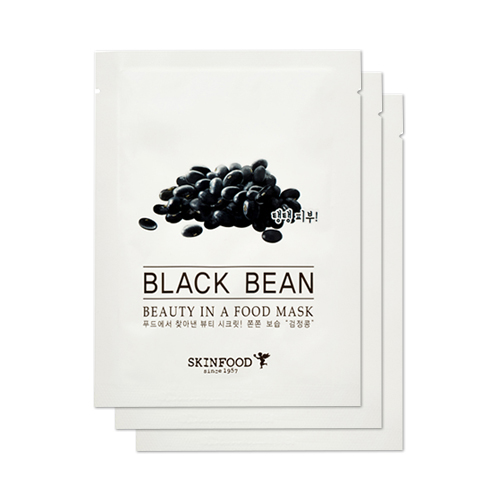 Beauty In A Food Mask #Black Bean