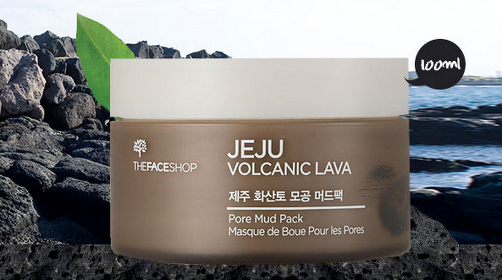 Jeju Volcanic Soil Pore Mud Pack