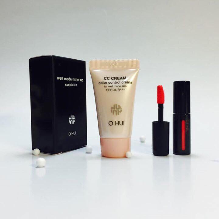 Ohui Well Made Make Up Special Kit (Liquid Rouge + CC Cream)