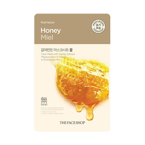 Real Nature Honey Mask Sheet