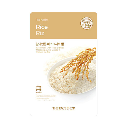 Real Nature Rice Mask Sheet