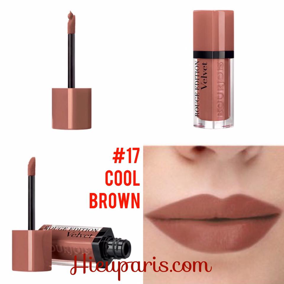 Bourjois Velvet #17 Cool Brown