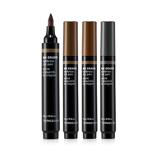 Bút xăm lông mày Ink Graffi Tint Eyebrow #02 Natural Brown