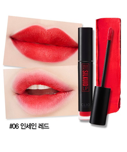 Virgin Kiss Silkuid Lip # 6 Insane Red