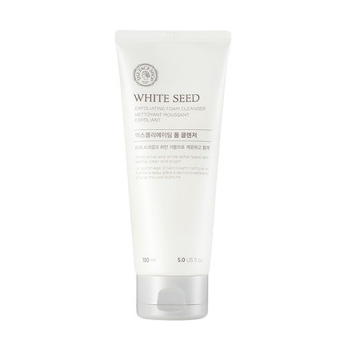 White Seed Exfoliating Foam Cleanser (V2)