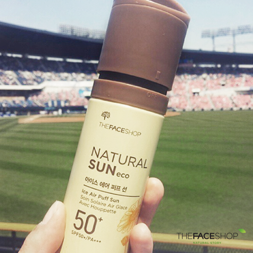 ICE Air Puff Sun SPF50+ (S)