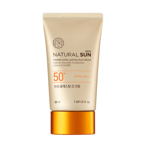 Natural Sun Power Long Lasting Sun Cream SPF50