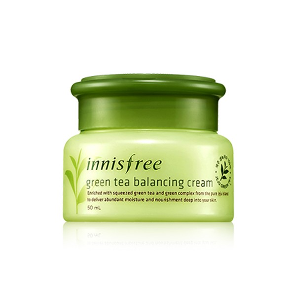 Green Tea Balancing Cream.
