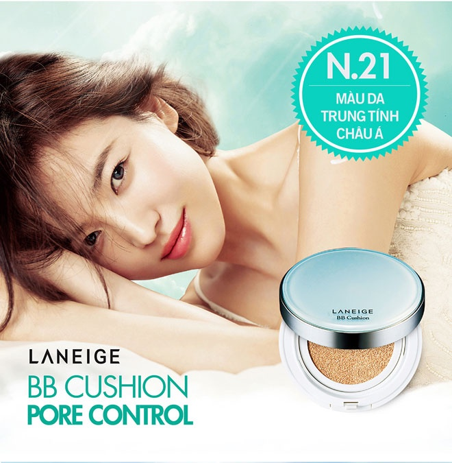 Laneige BB Cushion Pore Control #21 (New)