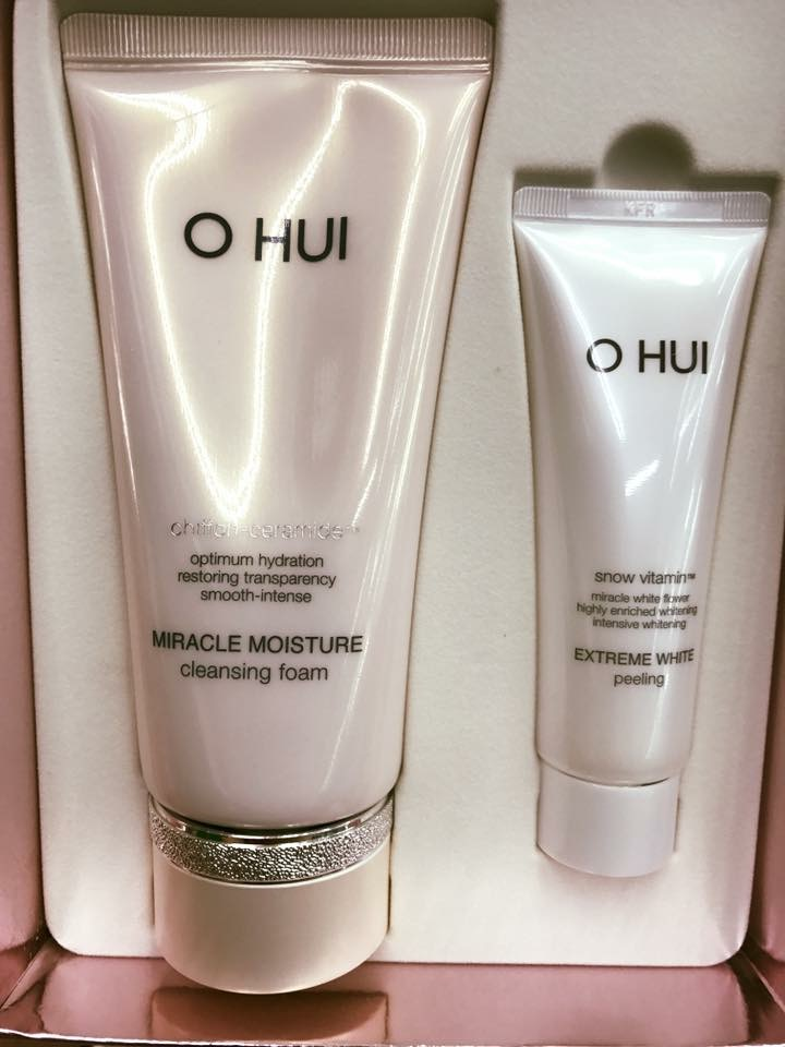 SRM Ohui Miracle Moisture Cleansing Foam Special
