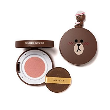 (LINE FRIENDS)TENSION BLUSHER #CR01 peach sorbet