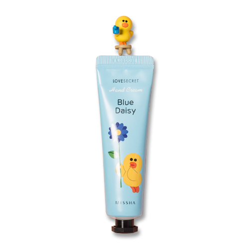 (LINE FRIENDS)Missha Love Secret Hand Cream #blue daisy
