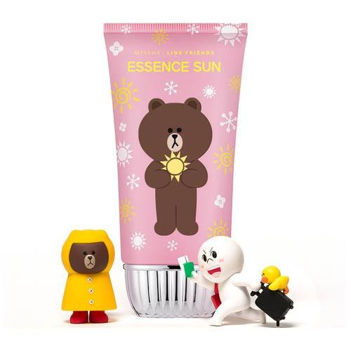 (LINE FRIENDS)All Around Safe Block Essence Sun SPF45/PA+++