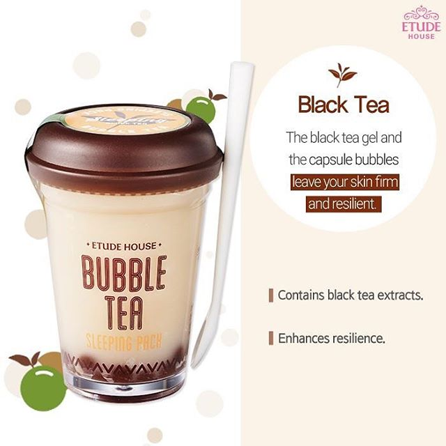Bubble Tea Sleeping Black Tea