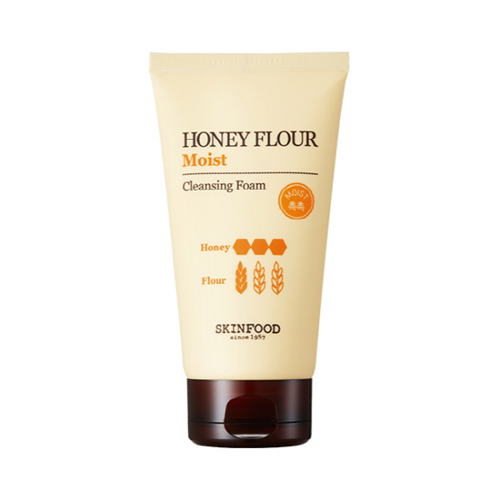 Honey Flour Moist Cleansing Foam