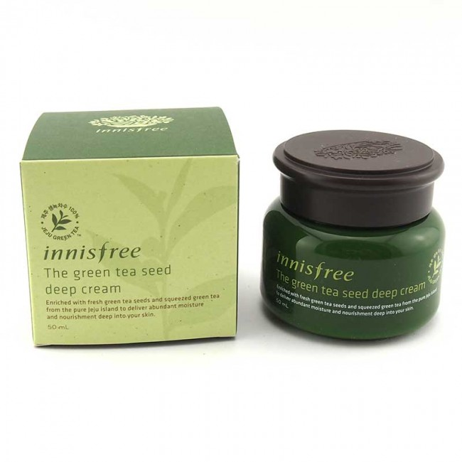 The Green Tea Seed Deep Cream.