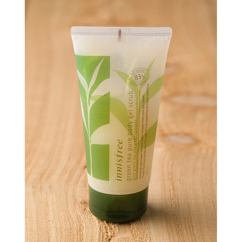 Green Tea Pure Body Gel Scrub