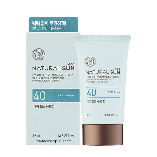 Kem CN No Shine Sebum SpF40