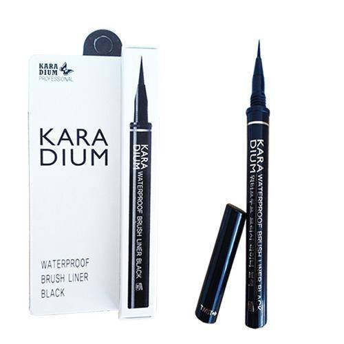 Karadium Waterproof Brush Liner Black (vỏ trắng)