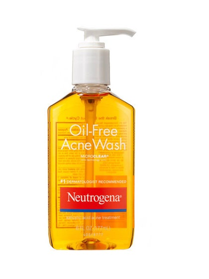 SRM Neutrogena Oil Free Acne Wash