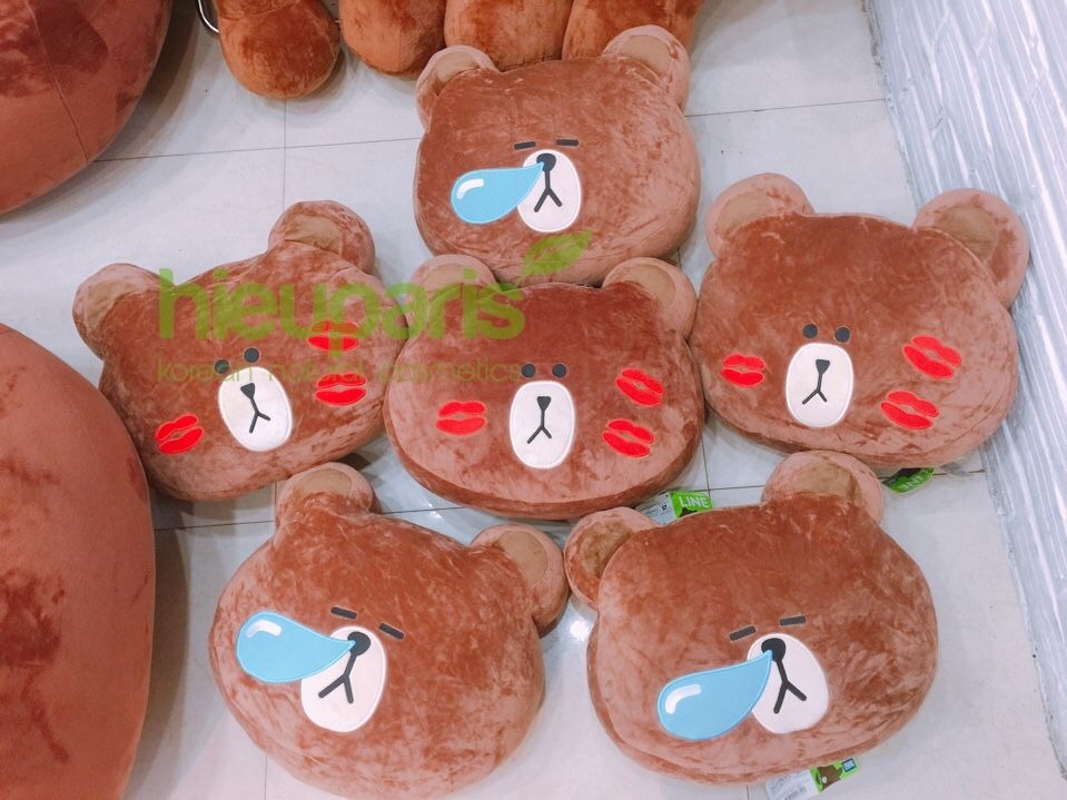 Gối Brown,Cony Size To 255