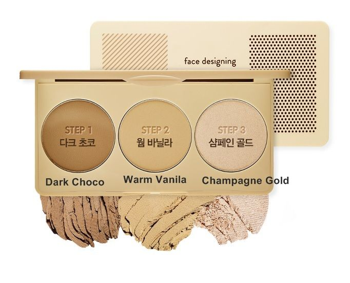 Face Designing Contouring Palette #1