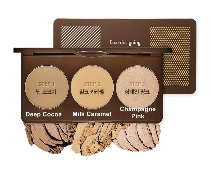 Face Designing Contouring Palette #2