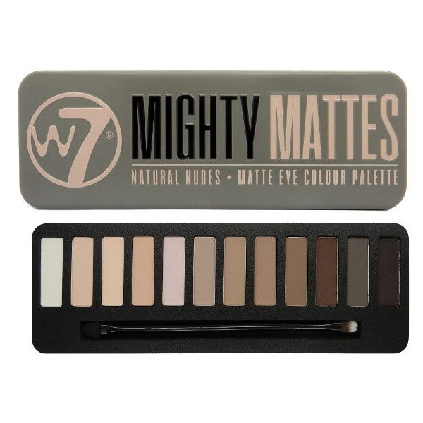 W7 Mighty Mattes Eye Color Palette