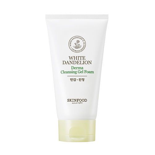 White Dandelion Derma Cleansing Gel Foam