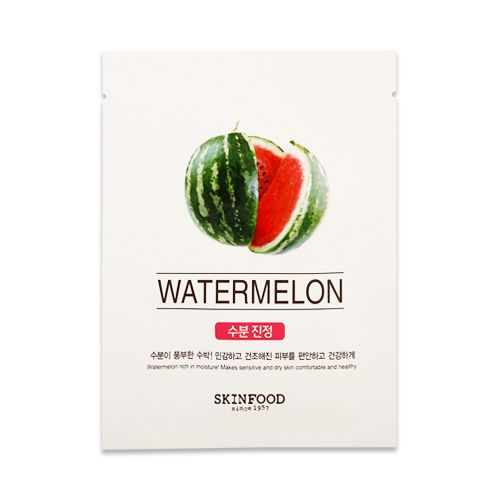 Beauty In A Food Mask #Watermelon