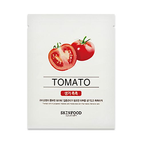 Beauty In A Food Mask #Tomato