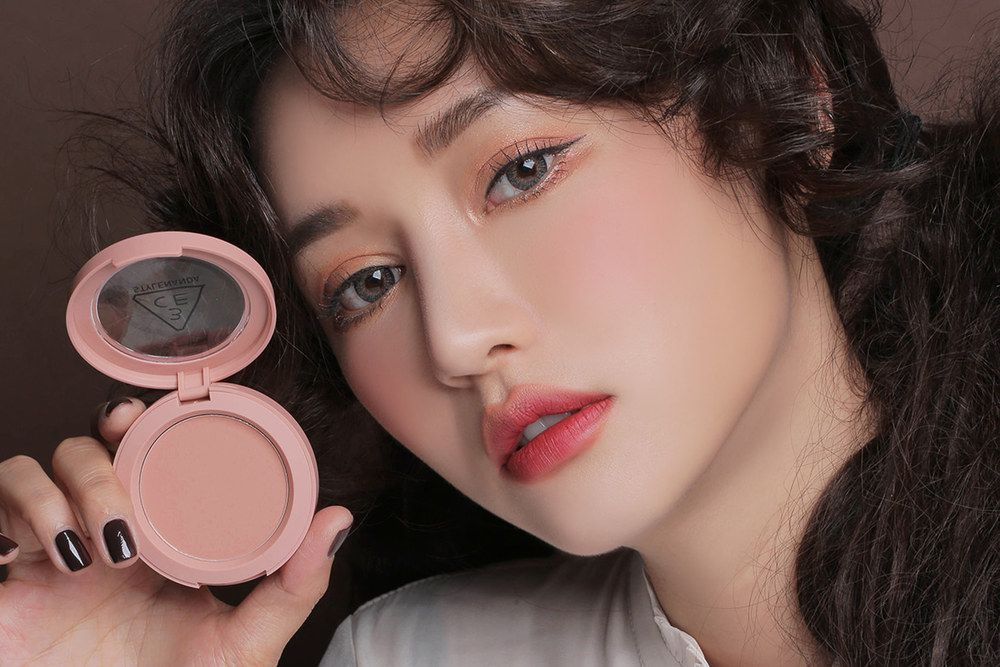 3 CONCEPT EYES FACE BLUSH #MONO PINK