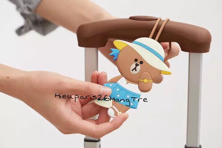 Tag Valy Choco Line Friends 95
