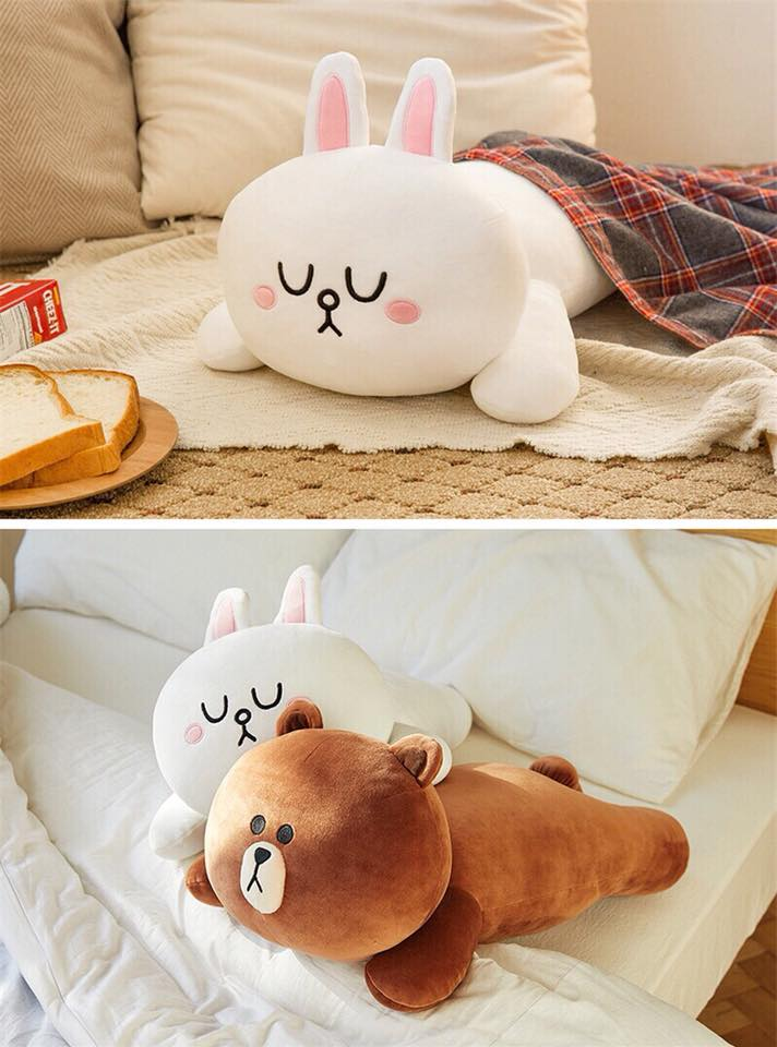 Gối Brown Cony Nằm Linefriends 60cm 295