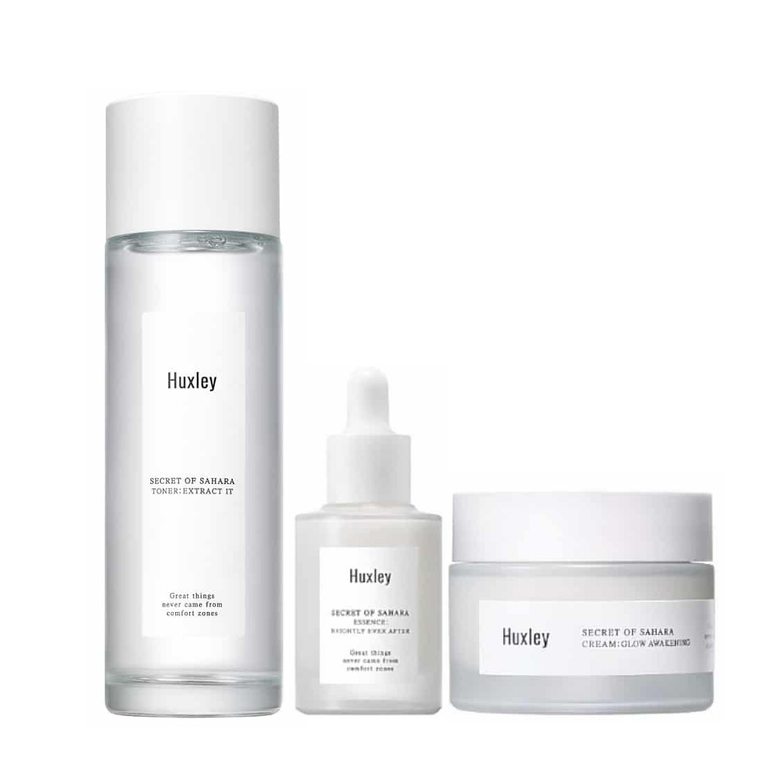 Set Huxley Secret Of Sahara Brightening Trio