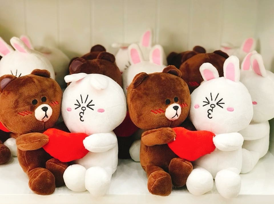 Gấu Brown & Cony Couple 295