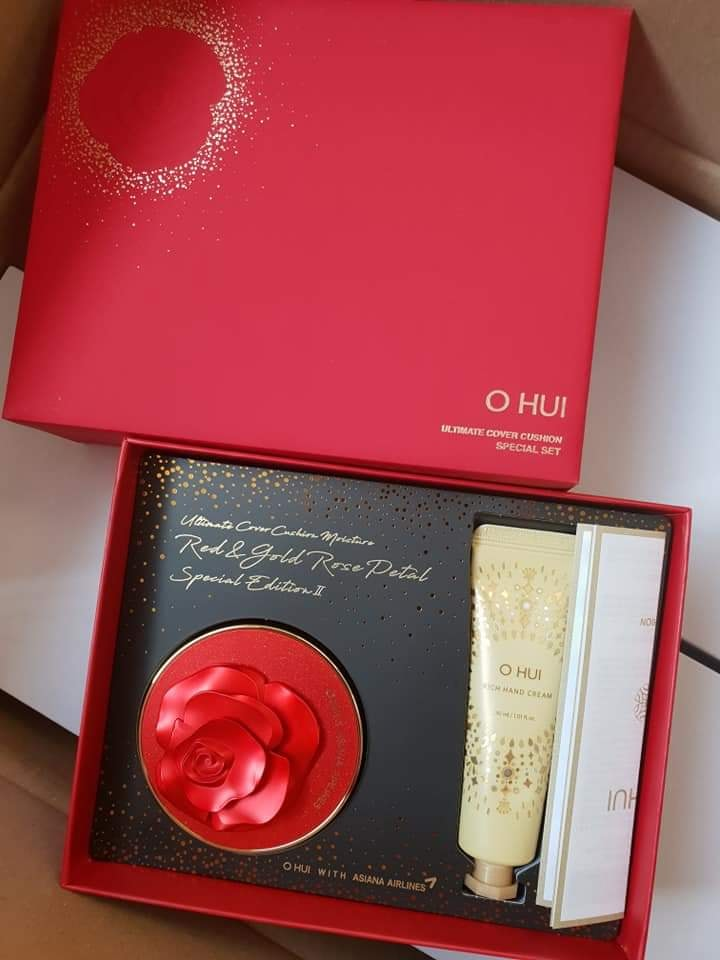 Set Ohui Cushion Đỏ