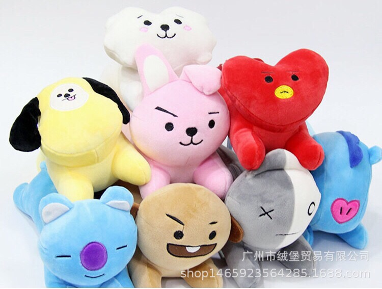 Gấu mini BT21 idol 175