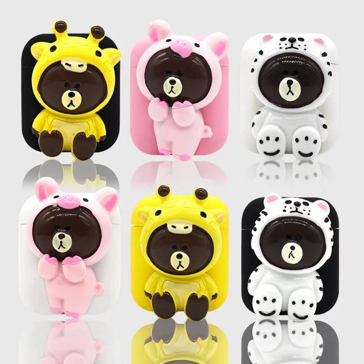Case Airpod Dino Linefriends 155