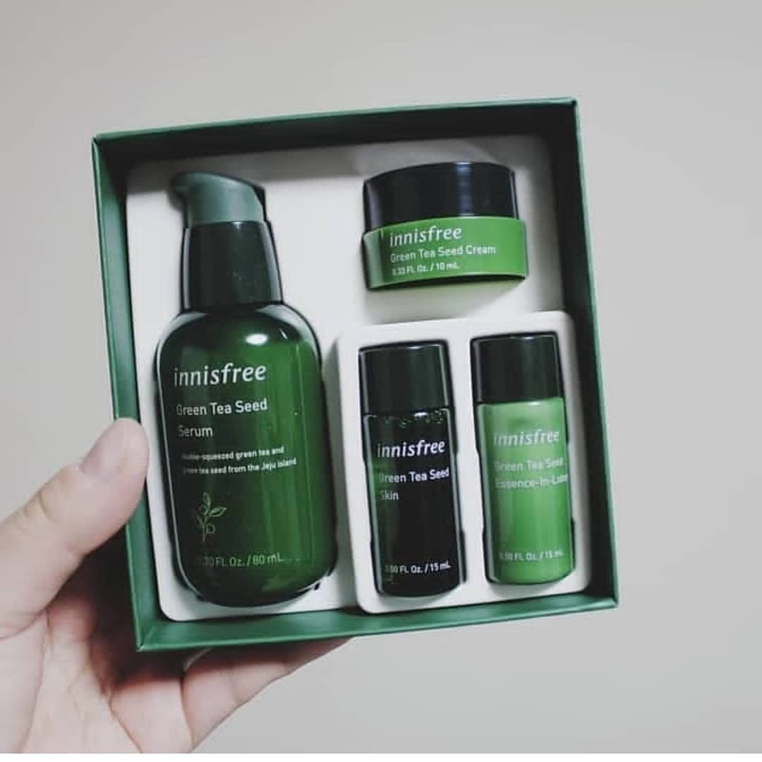 Set Green Tea Seed Serum Innisfree