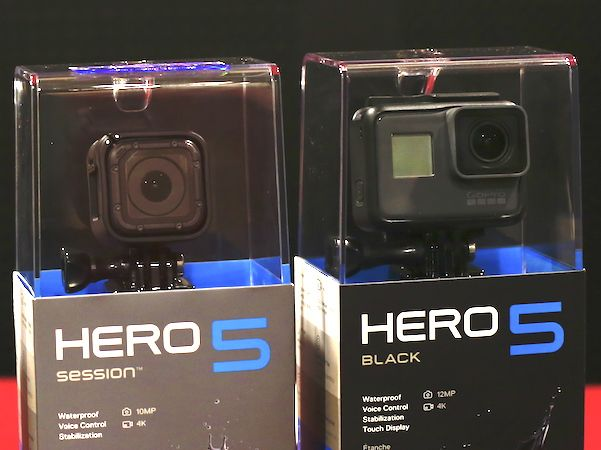 May quay GoPro Hero 5 da co mat tai Viet Nam