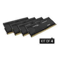 Kingston 16GB 2400 DDR4 CL12 DIMM (Kit of 4) XMP HyperX Predator (HX424C12PBK4/16)