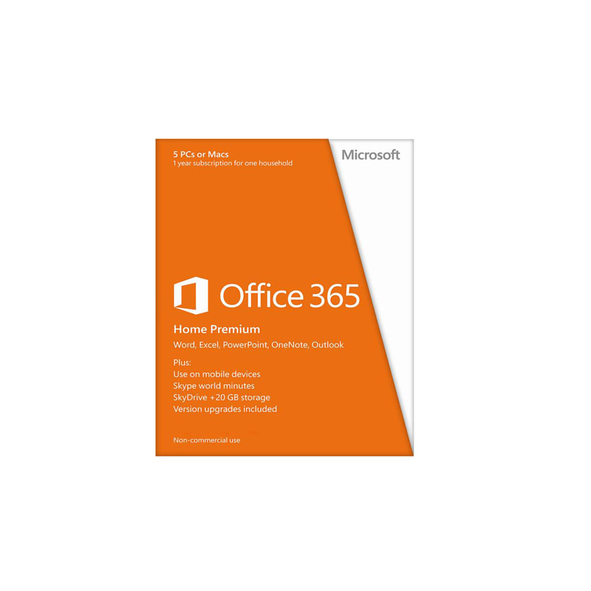 Microsoft Office 365 Home Premium 32/64bit 1 nam